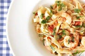 Tagliatelle Gamberetti- pasta