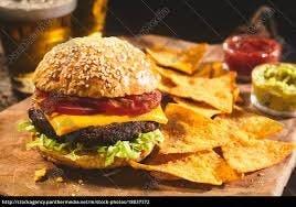 burger ranchero/frytki