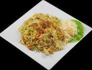 Ryż smażony z wołowiną