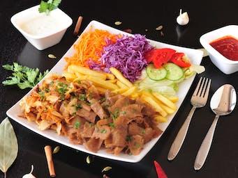 Danie obaidowe kebab z mixem mięs