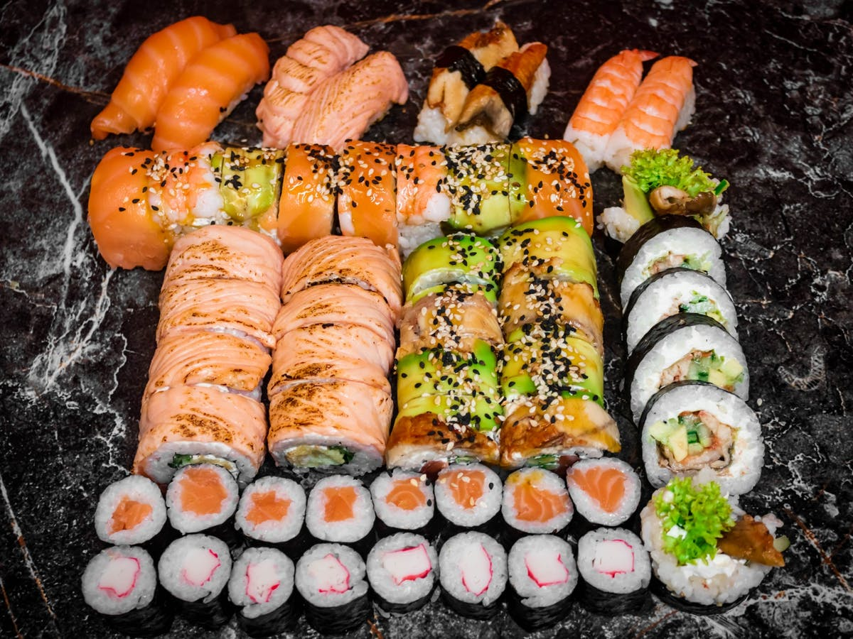 Zestaw  Sushi Time Mix (52szt)