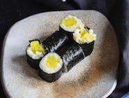 Hosomaki Takuan (marynowana rzepa)