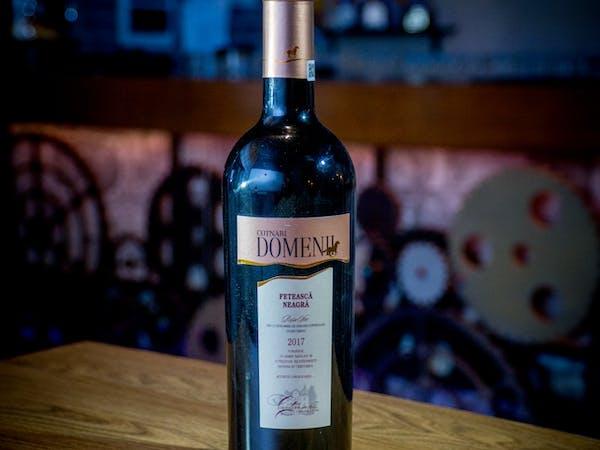 Vin Cotnari Feteasca Neagra rosu sec (750 ml)