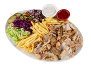 Kebab na talerzu - Normalny