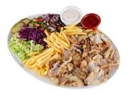 Kebab na talerzu - Mega