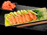 Sashimi z łososia