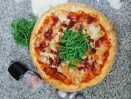 Pizza pollo e cipolla