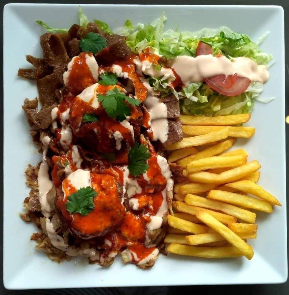Talerz kebab