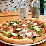 Pizza Crudo, Rucola e Grana