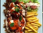 Kebab talerz - M