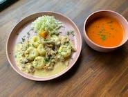 Zestaw (zupa + drugie danie)