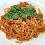 Spaghetti alla Chitarra & Salsa alla Bolognese