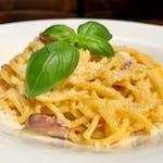 Spaghetti alla Chitarra & Salsa alla Carbonara
