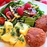 Mielone alla mięsne z ziemniakami