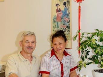Pani Xu z mężem