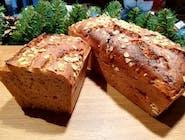 Chleb żytni na zakwasie z Cebulą