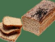 Chleb żytni na zakwasie z Czarnuszką