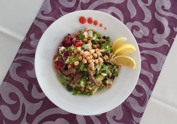 Salată rece de vită și ghimbir