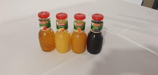 Granini mere, portocale, piersici, coacaze negre, grapefruit