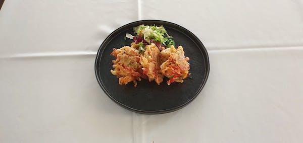 Legume tempura