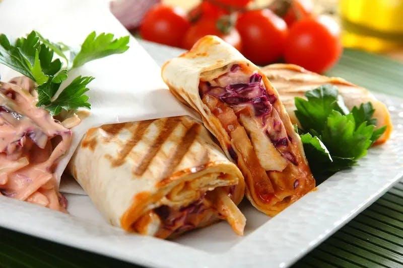 Kebab w tortilli