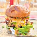 Burger Awokado