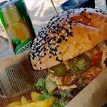 Burger sharpjalapeno