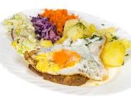 Sznycel wieprzowy z jajkiem