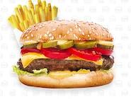 Burger menu Cheese