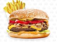 Burger menu Barbecue