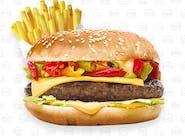 Burger menu Samuraj