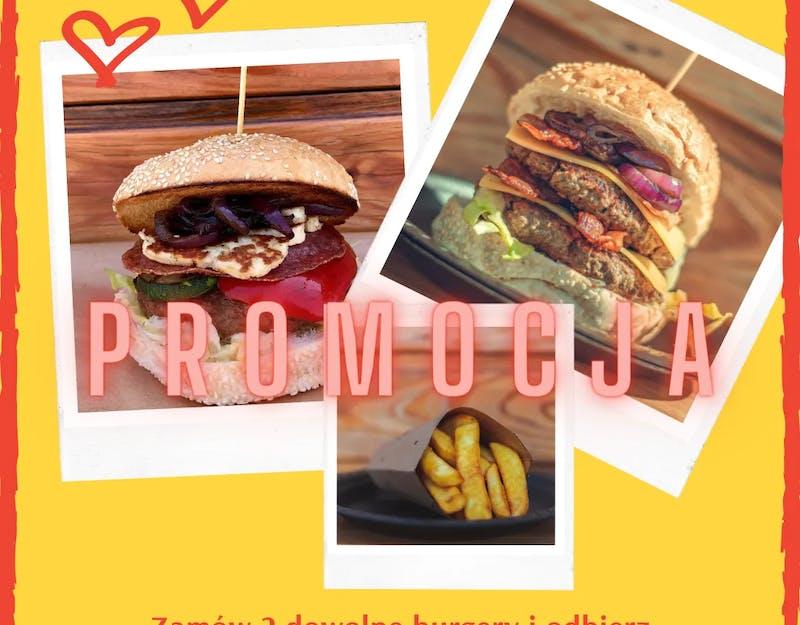 Fryty do 2 burgerów gratis