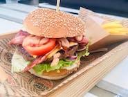 Zestaw Burger New York + Frytki