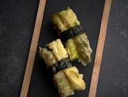 Nigiri szparagi w tempurze