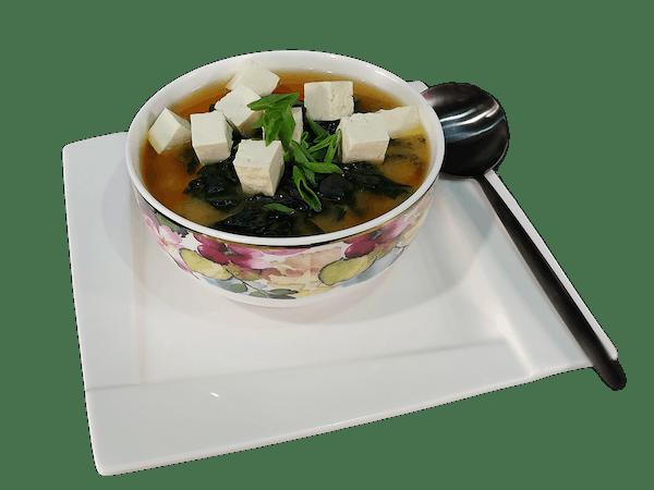 Zupa Miso Łosoś