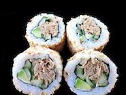 California maki z pastą z tuńczyka