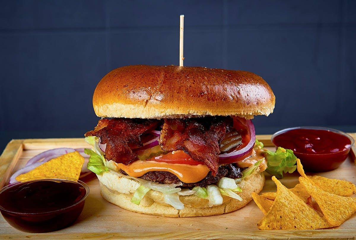 Burger BACON CHEESEBURGER 220g
