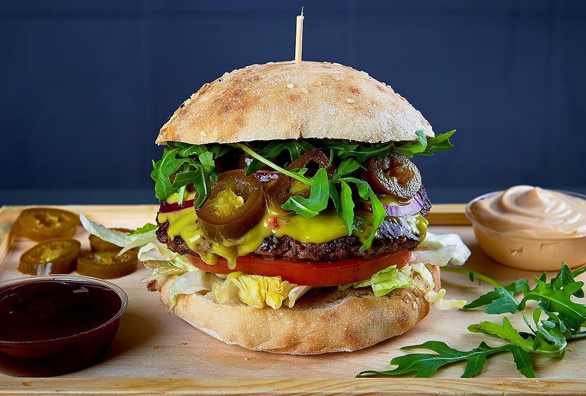 Burger EL CHUPACABRA 220g