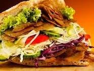 Kebab w Bułce - Średni