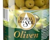 Royal Del Sol Oliwki zielone, bez pestek, (drylowane) 935 ML/SŁ masa netto po odcieku: 400g  Numer artykułu 10165980