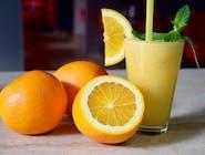 Sok świeżo wyciskany- pomarańcza