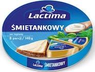 Lactima Ser topiony zegar śmietanowy 140 g 0,14 KG/PA  Numer artykułu 15755261