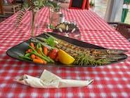 Zargan la plită cu legume