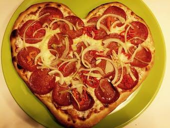 Pizza Habanero w kształcie serca!