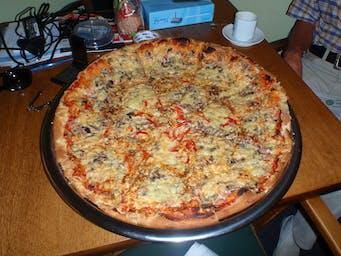 Nasza Giga pizza, średnica 60 cm