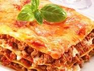 Lasagne  z sosem  Bolognese