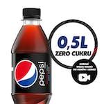 Pepsi bez cukru 0,5l