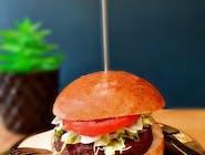 Linda McCartney burger