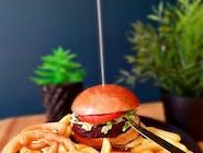 Linda McCartney burger w zestawie