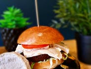 Linda McCartney cheeseburger